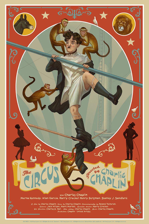 Famosos filmes de Charlie Chaplin se tornaram lindas ilustracoes (8 pics)