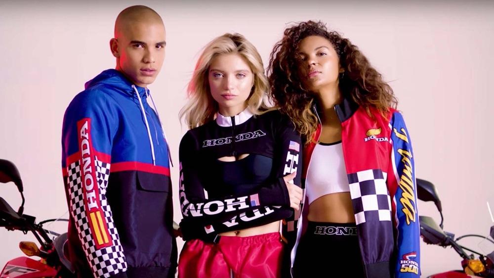Брендированная одежда Honda x Forever 21 для подростков