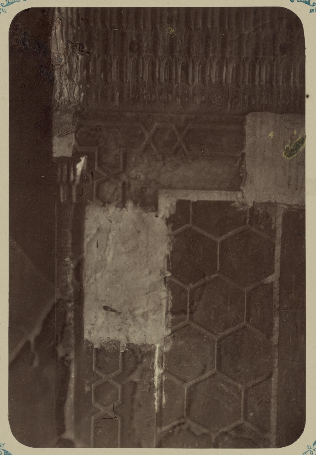 Мавзолей эмира Тимура Курагана (Гур-Эмир). Часть цоколя внутри мавзолея