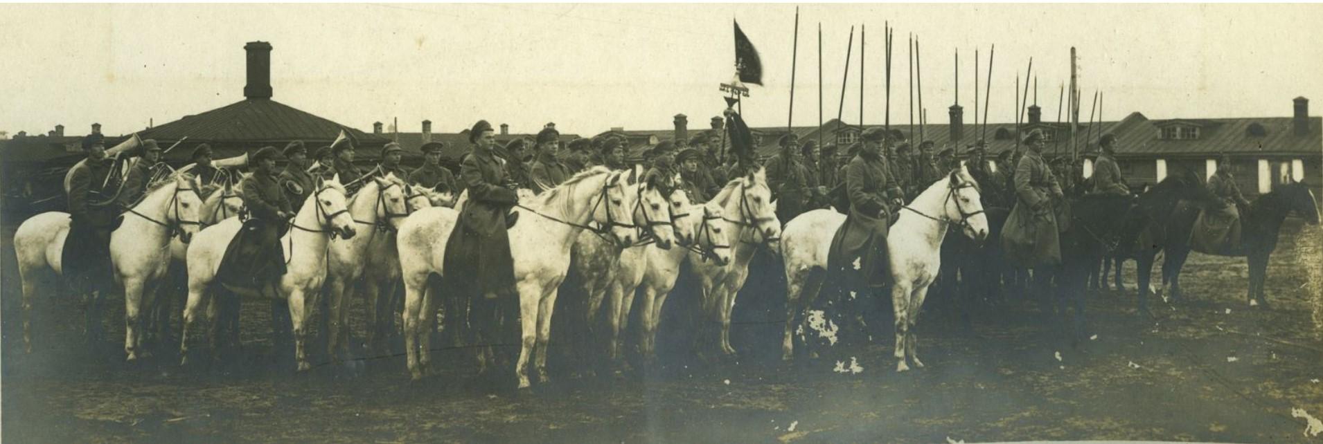1927. Красноармейцы