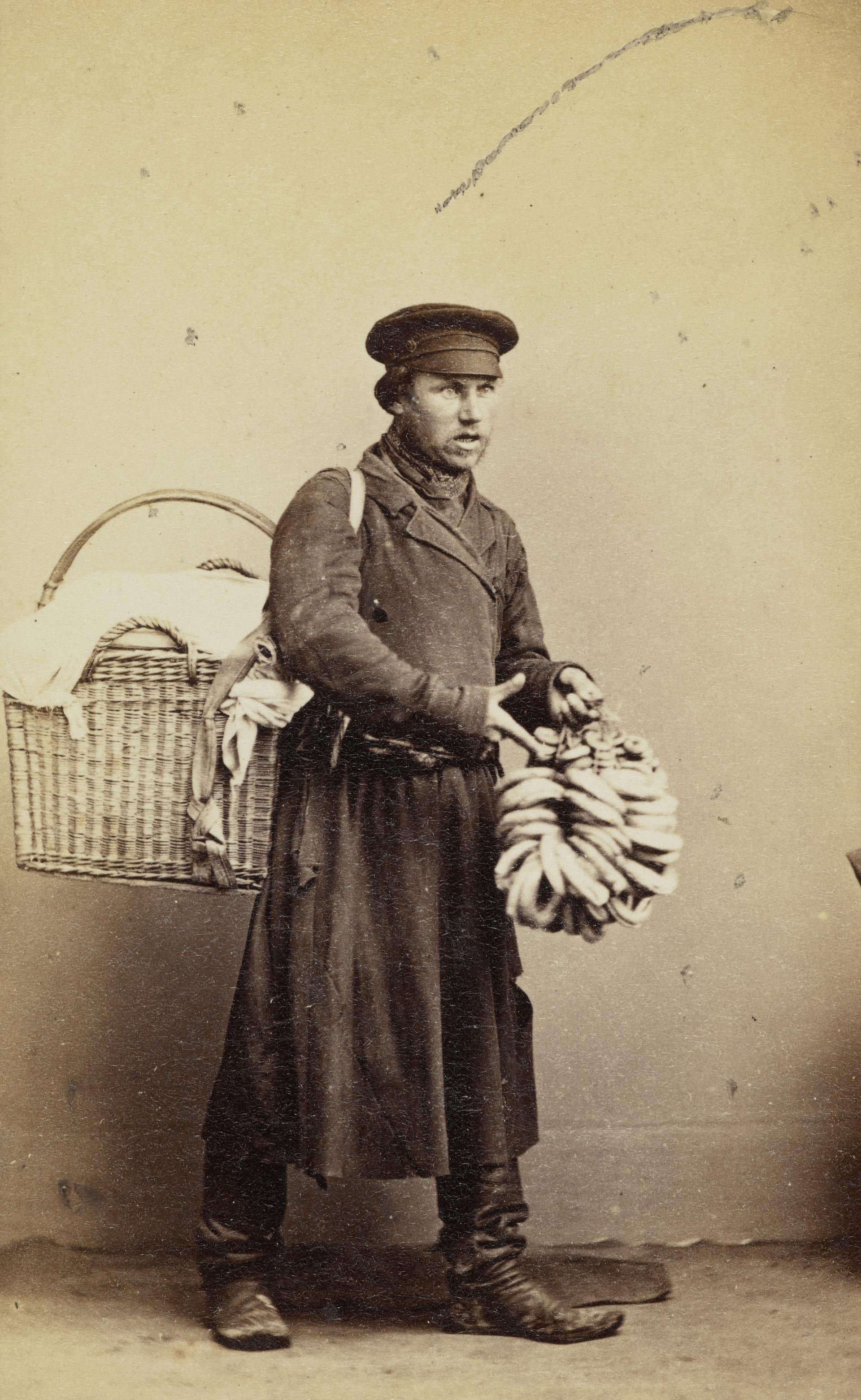 Продавец баранок