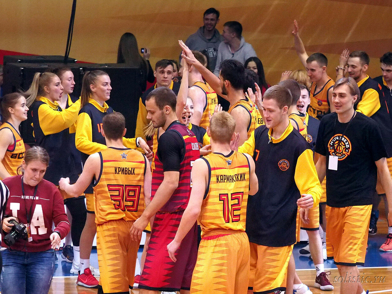 146 Матч звезд АСБ 2018 (ассоциации студенческого баскетбола)