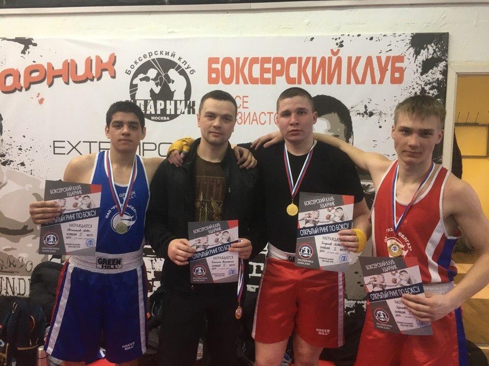 Воспитанники Кораблинского Дома творчества стали победителями турнира по боксу «Открытый ринг» в городе Москва
