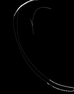 перья черные