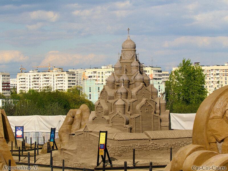 Кижи. Выставка в Коломенском 2018