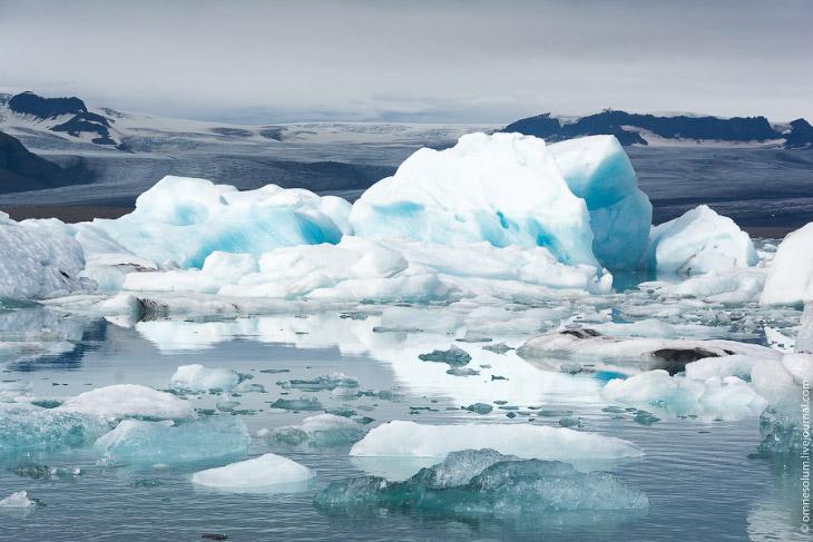 Ледовая лагуна в Исландии (32 фото)