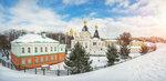 Кремль в Дмитрове зимой