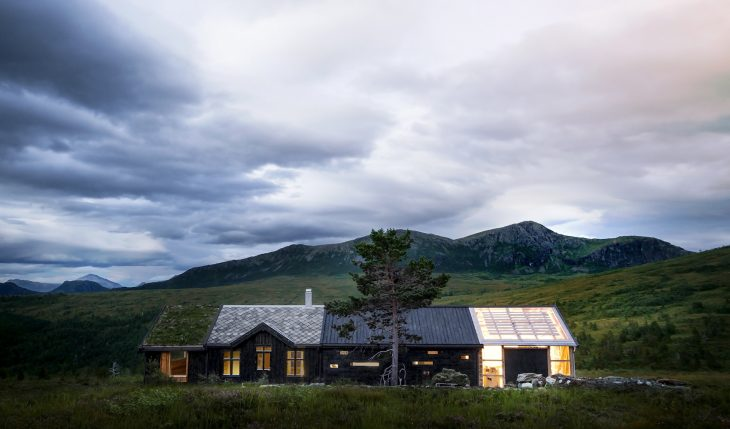 Cabin at Troll's Peak by Rever & Drage Architects
