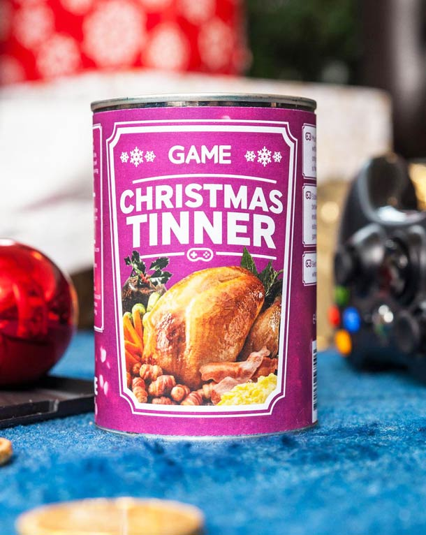 Christmas Tinner – A complete Christmas dinner in a can (3 pics)