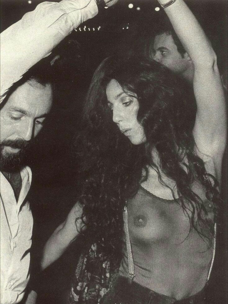 Cher at Studio 54, NYC, 1970's