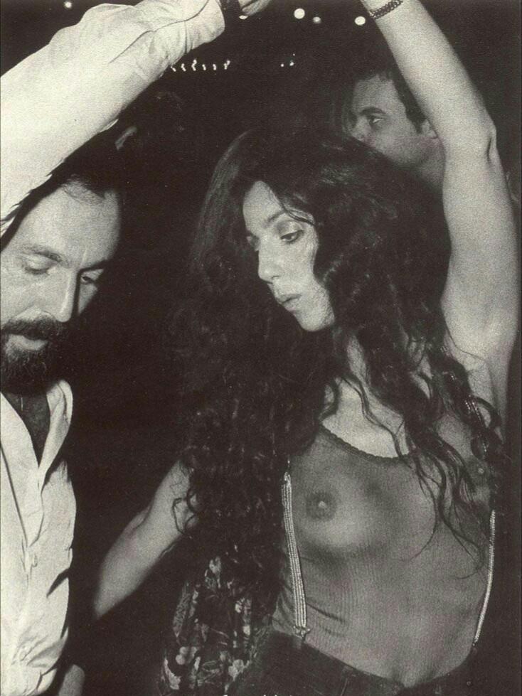 Cher at Studio 54, NYC, 1970's
