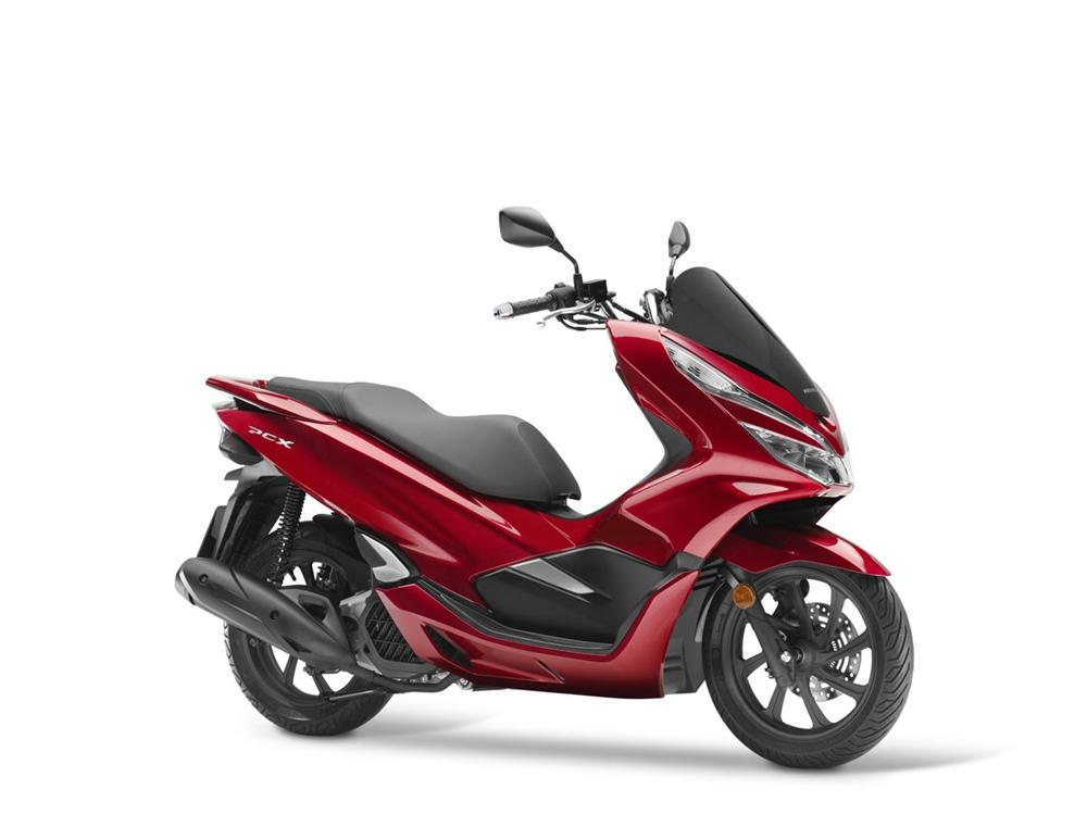 Новые скутеры Honda PCX125 (Европа) и Honda PCX150 (США)