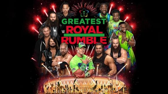 Post image of WWE Greatest Royal Rumble— обновлённый кард