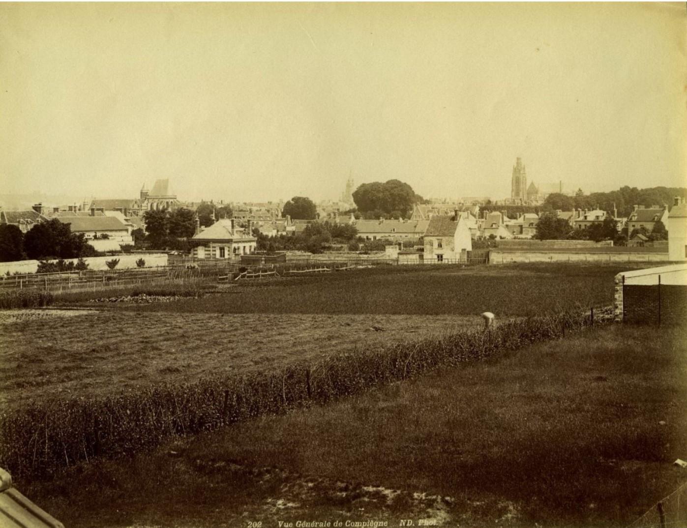 1860-е. Компьен. Общий вид