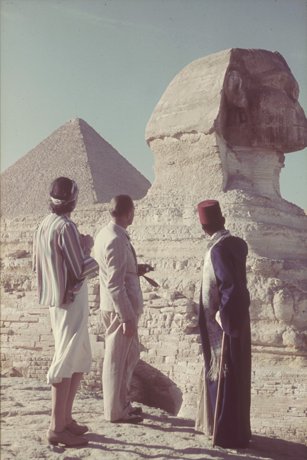 Гиза. Сфинкс и пирамиды
