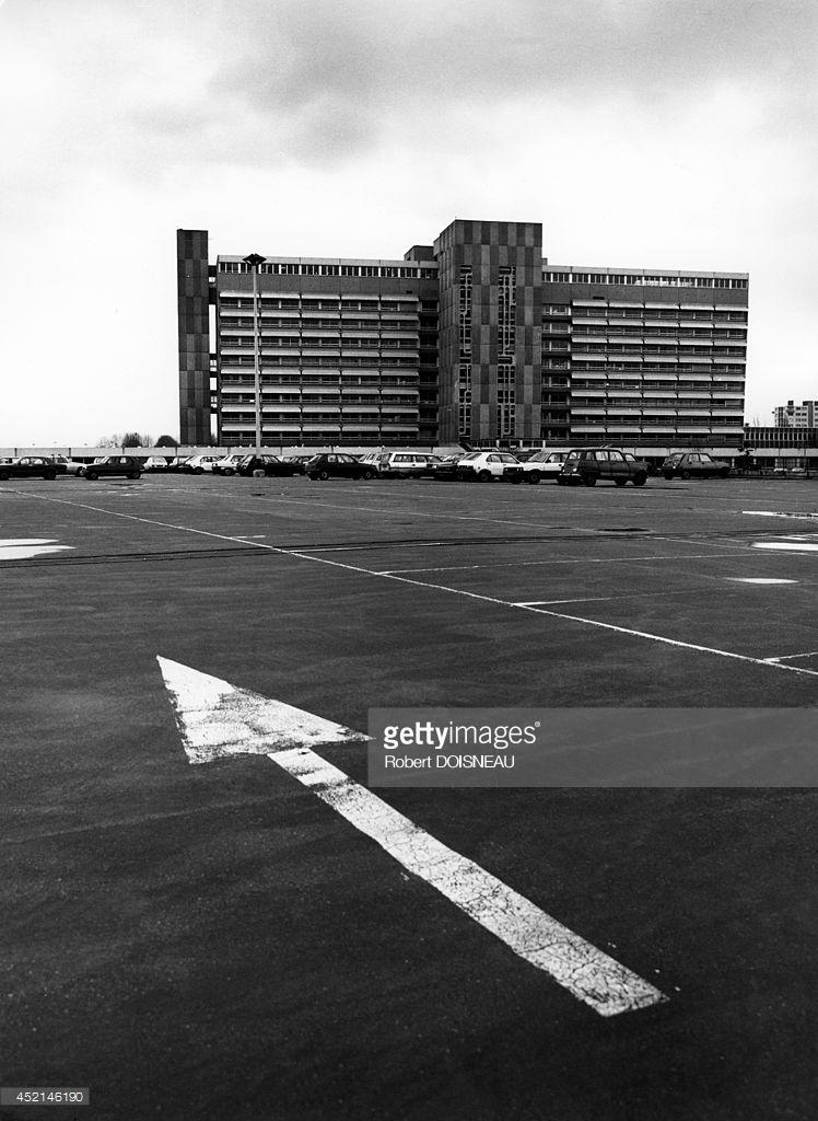 1986. Больница «Делафонтейн» в Сен-Дени.