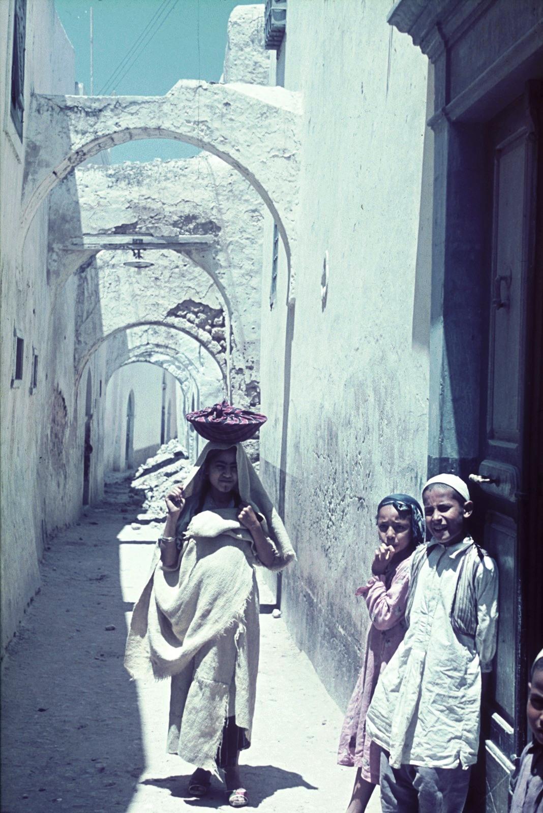 Триполи. В еврейском квартале
