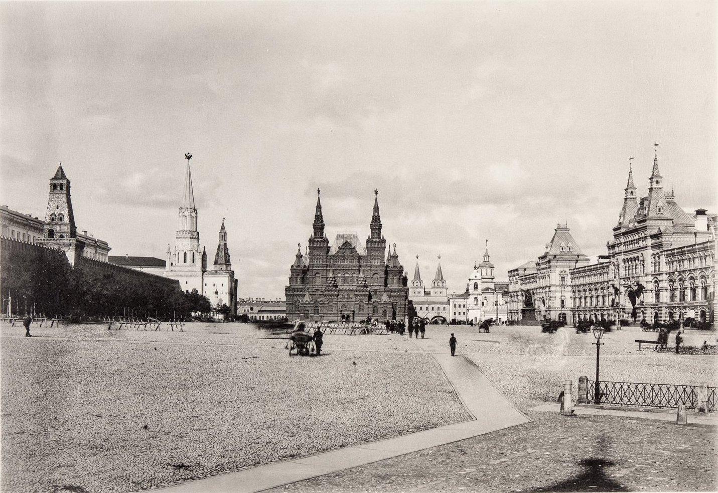 Исторический проезд на Красной площади