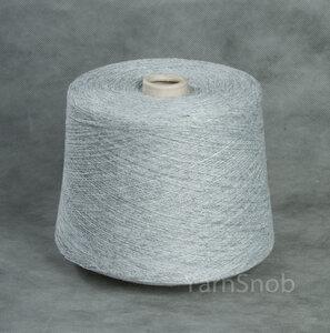 16808-Basic, смесовая пряжа, светло-серый меланж