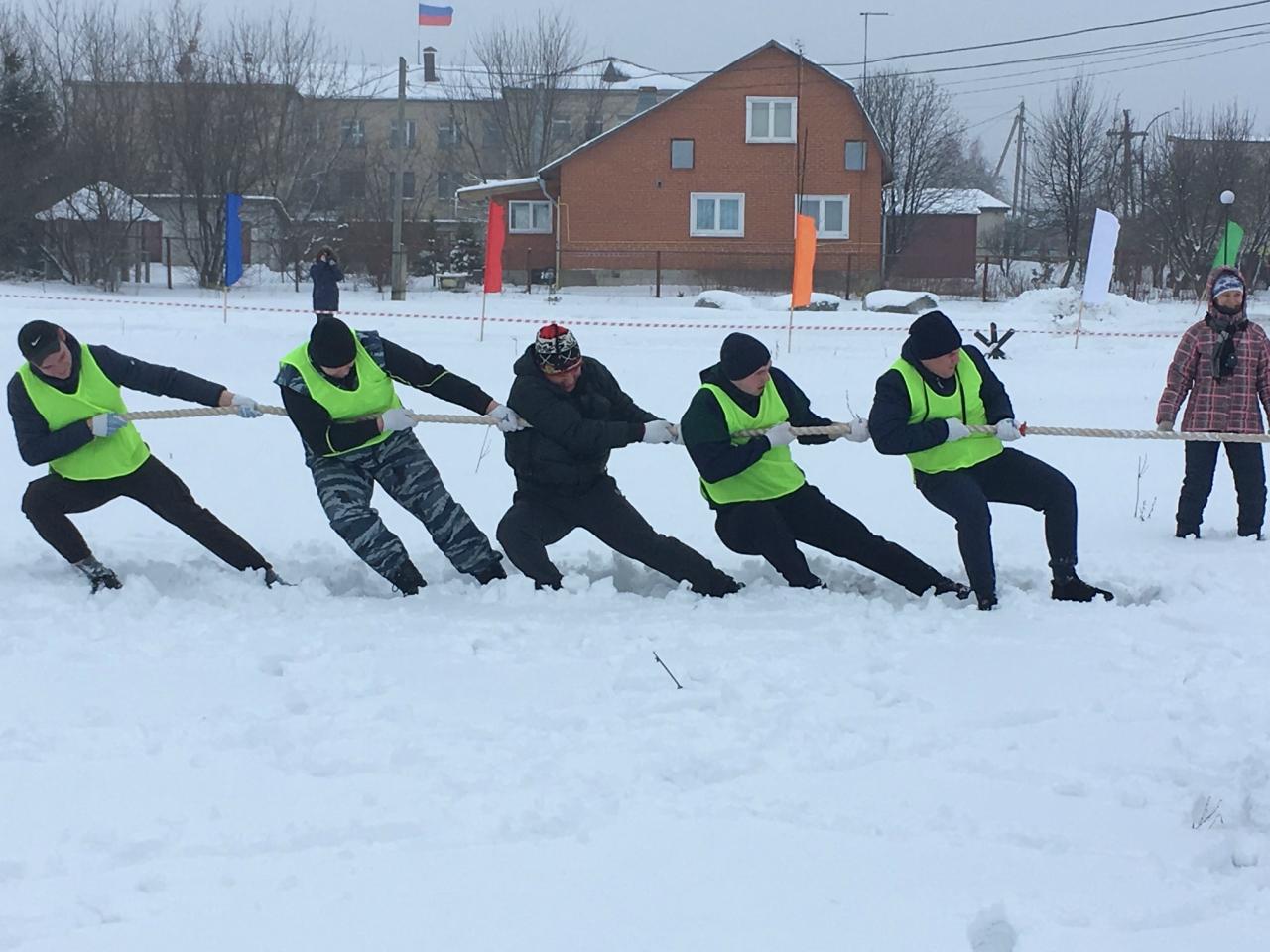 зимние спортивные игры «Алексеевские забавы»