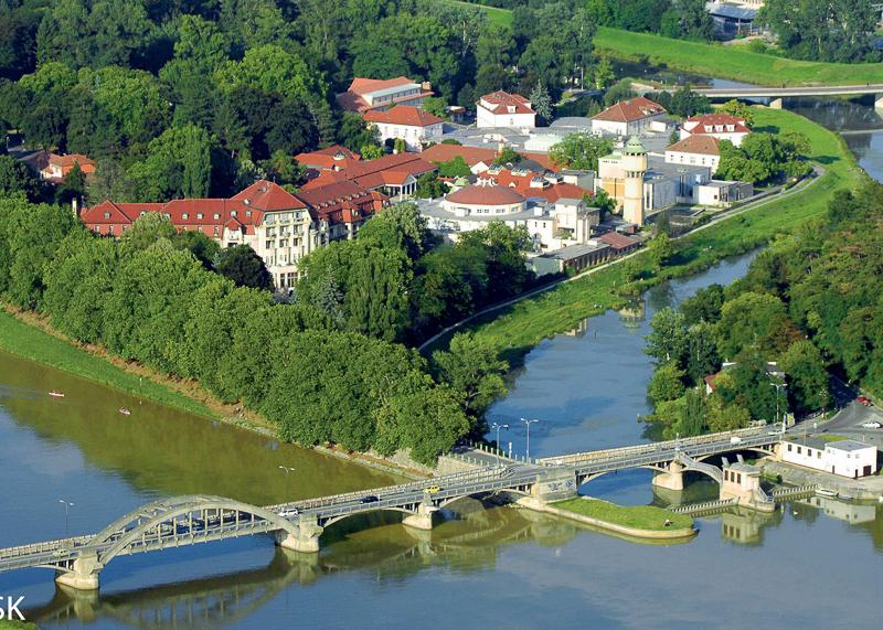 В Пиештянах находится около 11 источников с целебной водой