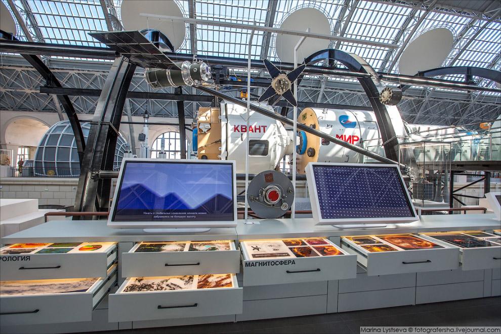 выставка космос Москва