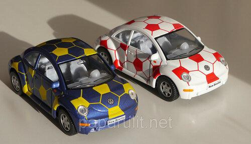 Kinsmart Volkswagen New Beetle футбольный мяч