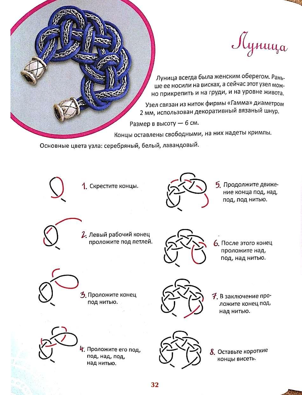 отделка наузы схемы узелковая магия плетения фото пошагово надо отнестись