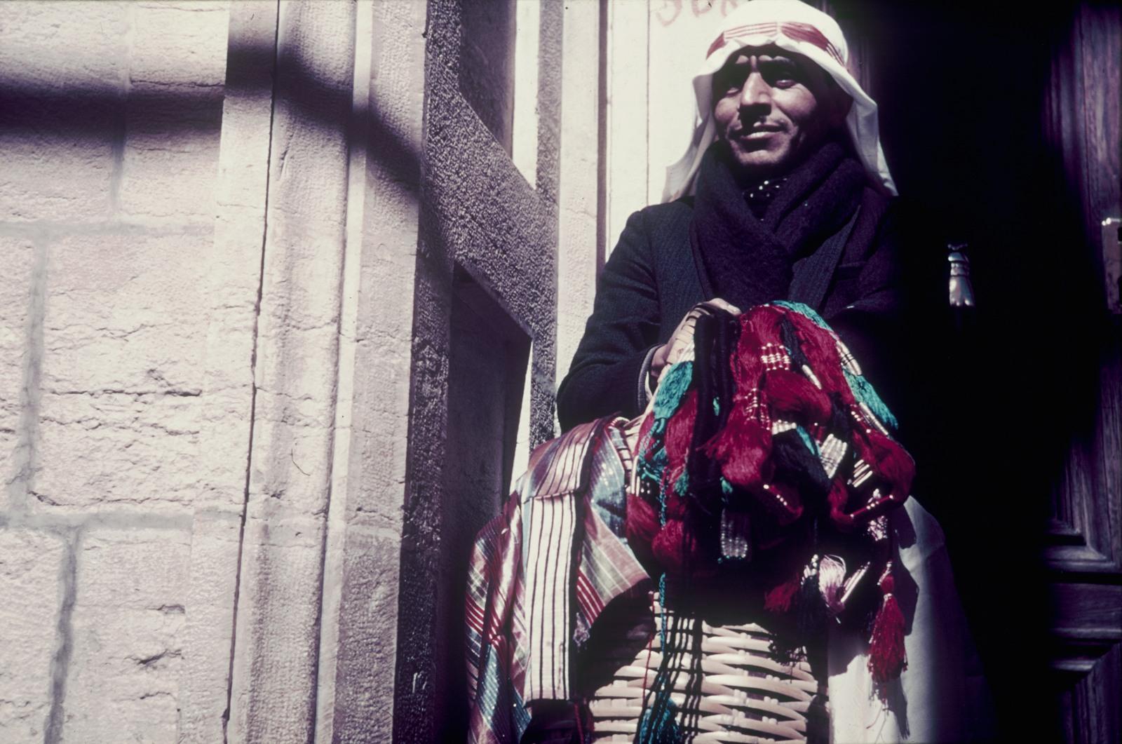 Каир. Портрет торговца пряжей