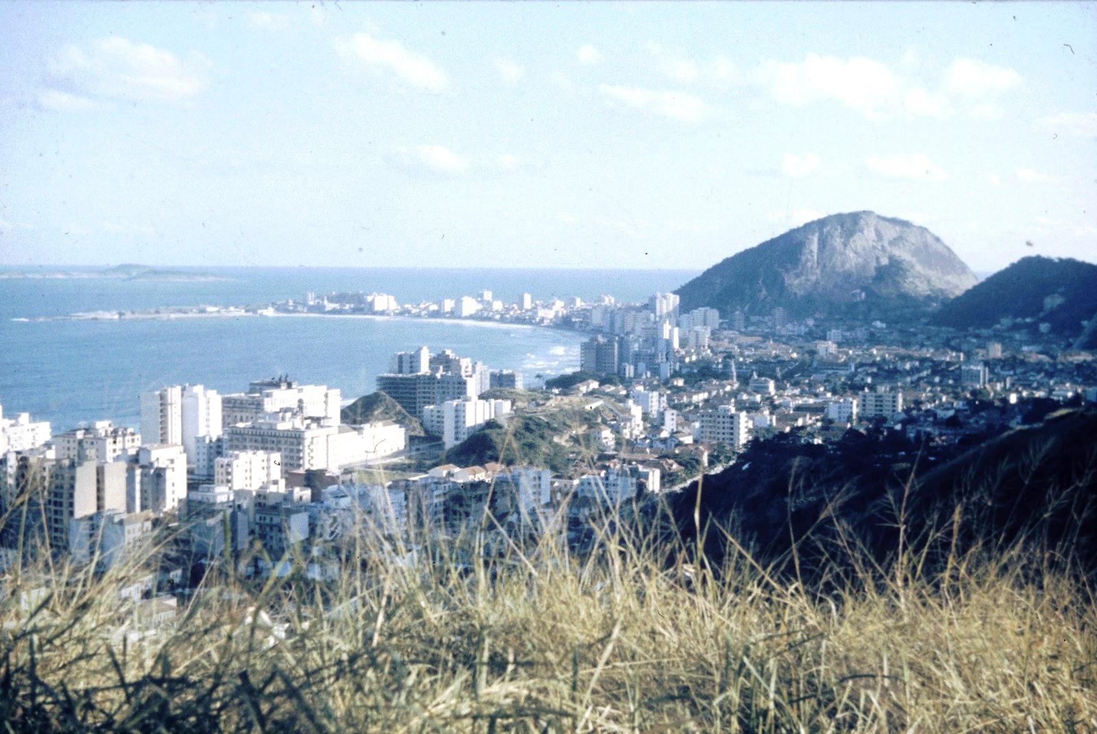 Рио-де-Жанейро. Вид на город и залив Гуанабара
