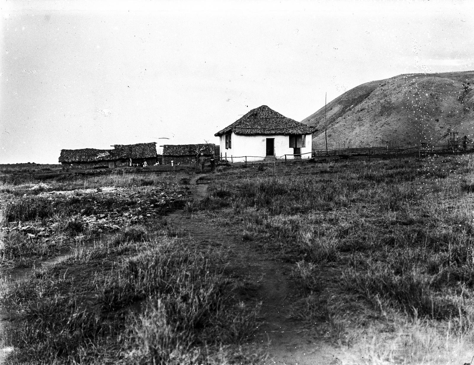 232. Вид немецкой школы на севере горы Меру