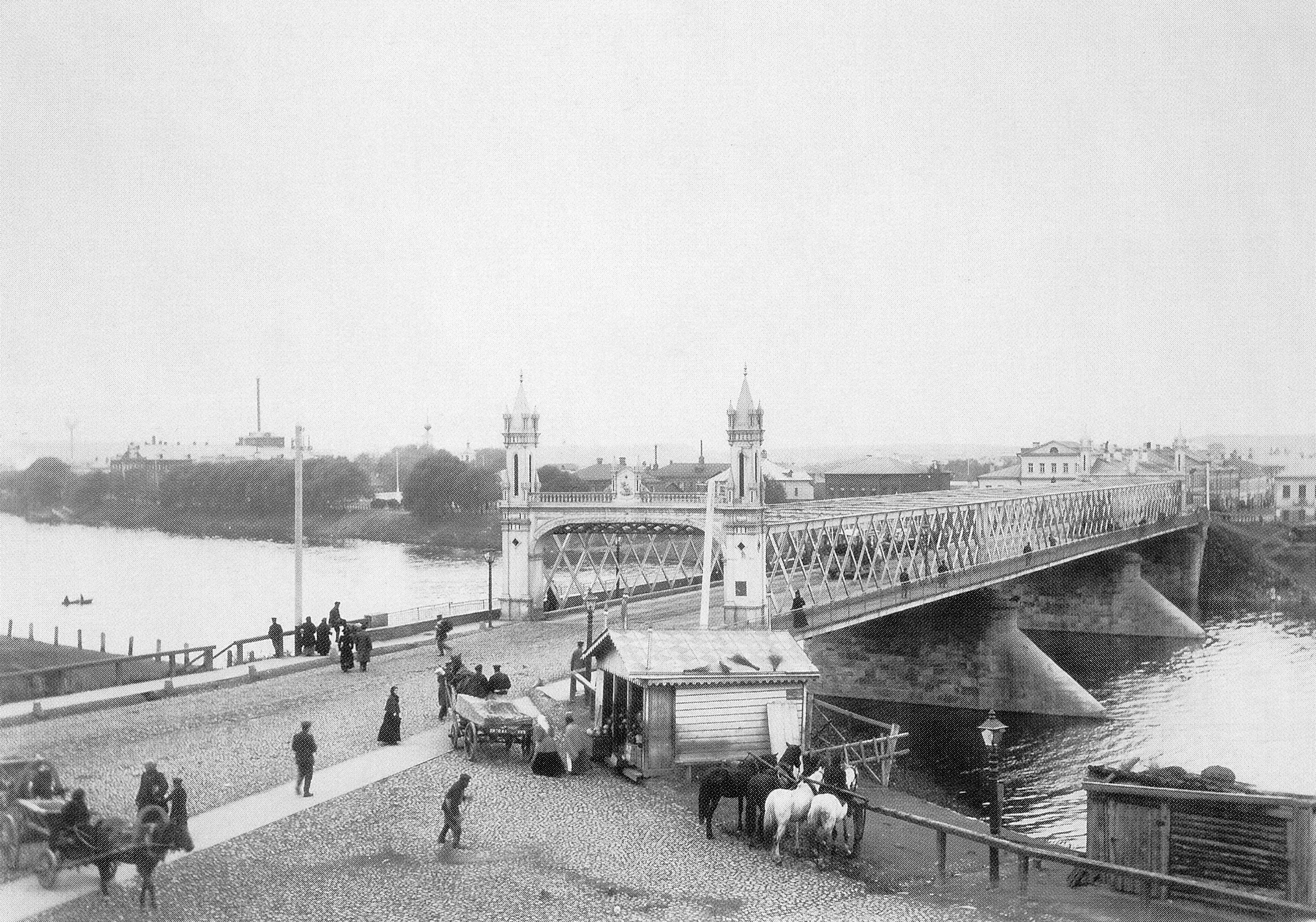Дорогомиловский мост. 1900-е