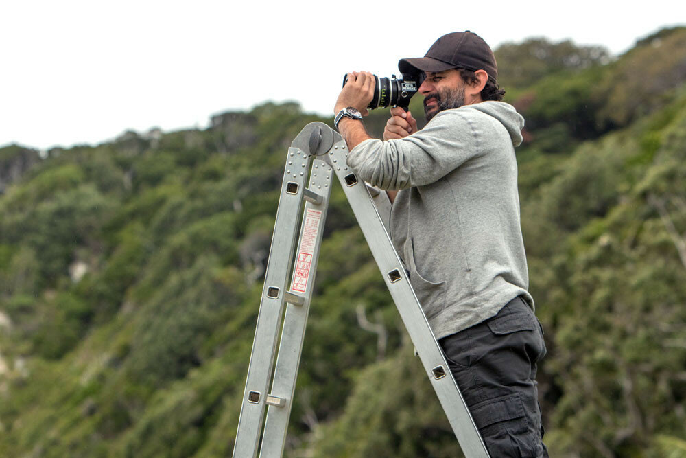 Stills photography on the set of The Shallows