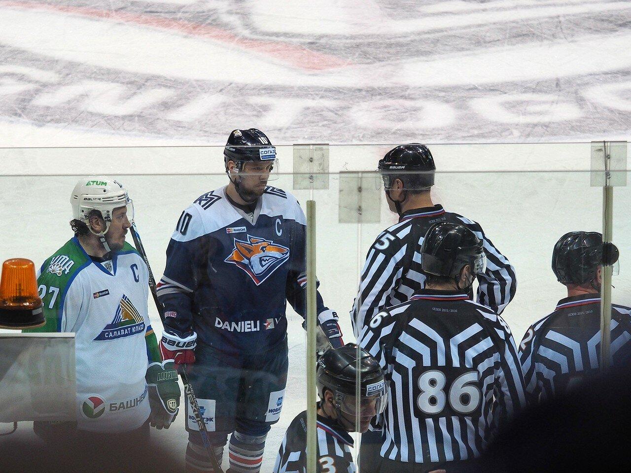 128Плей-офф 2016 Восток Финал Металлург - Салават Юлаев 23.03.2016