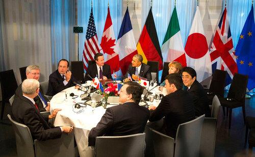 Лидеры G7 посетили главный языческий храм Японии