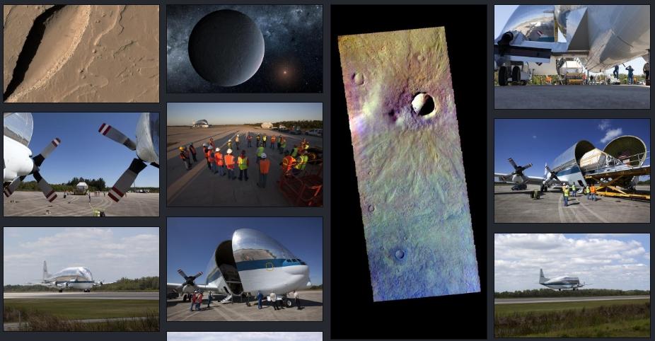 НАСА опубликовало 140 000 фото, видео и аудиозаписей