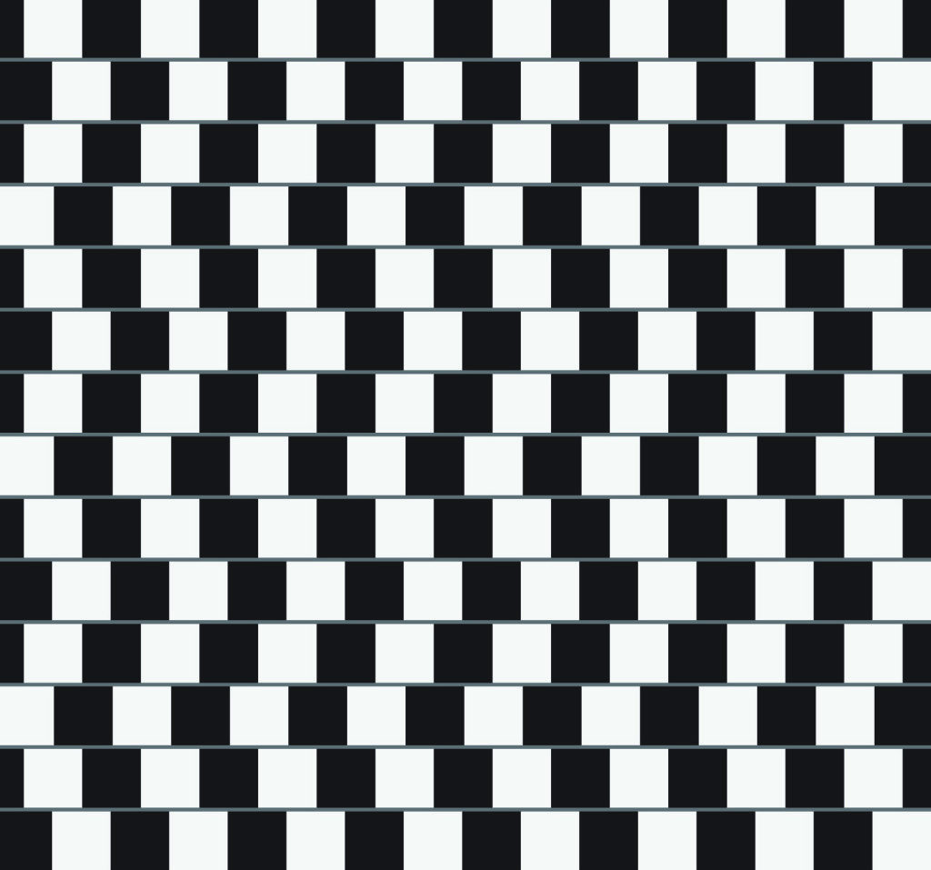 Иллюзия стены кафе (Cafe Wall Illusion)