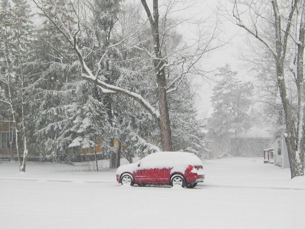 Spring in Wisconsin.