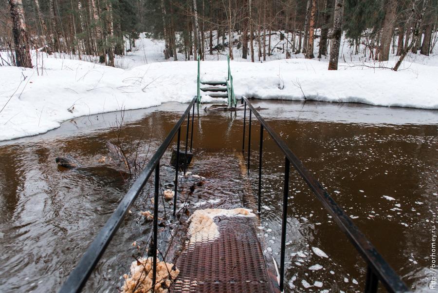 паводок весной затоплен мост