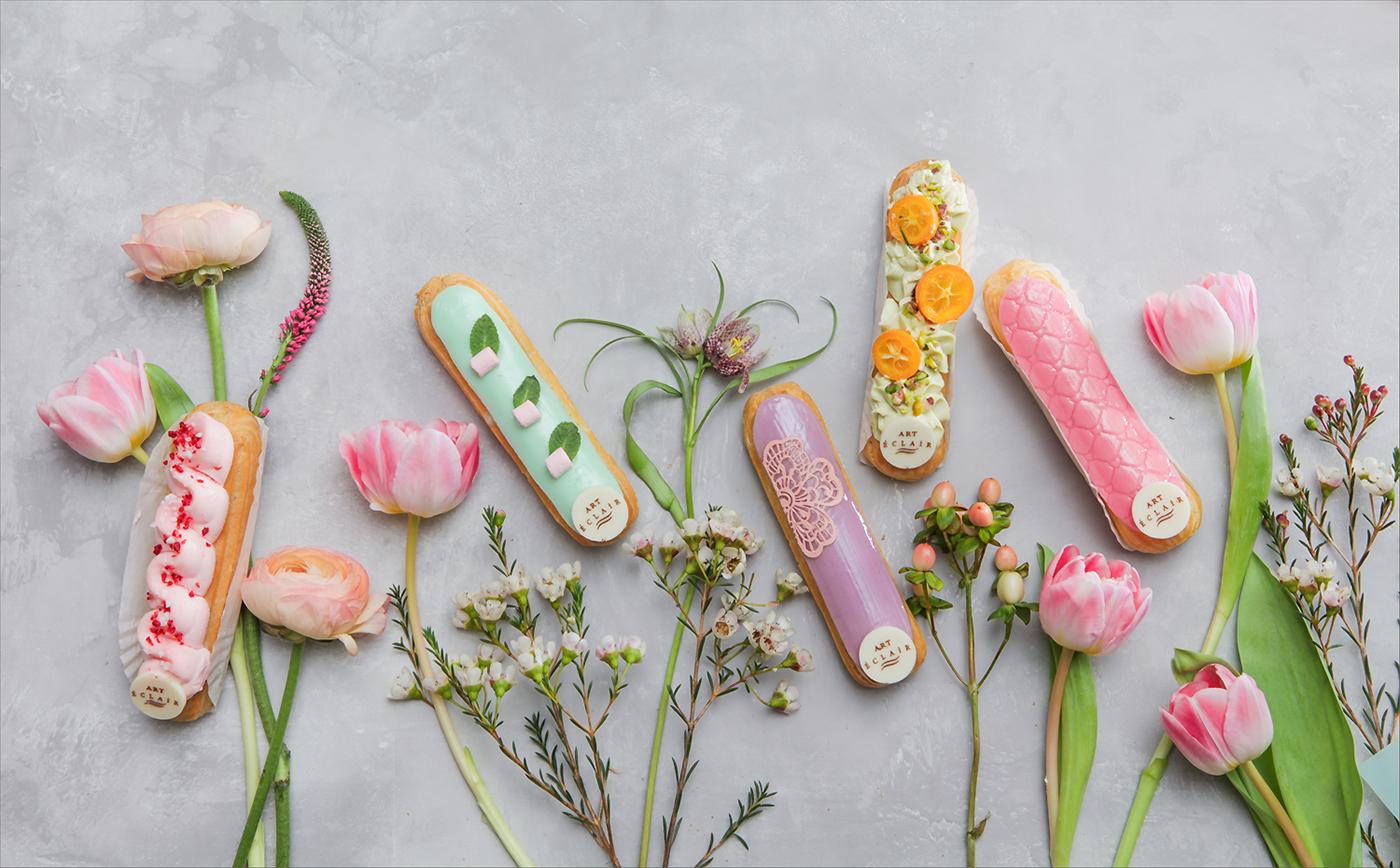 Красивая еда для Eclair Little Artwork / фото Евгения Драч