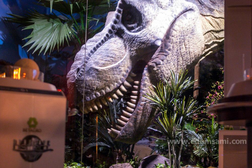 Парк динозавров в Бангкоке