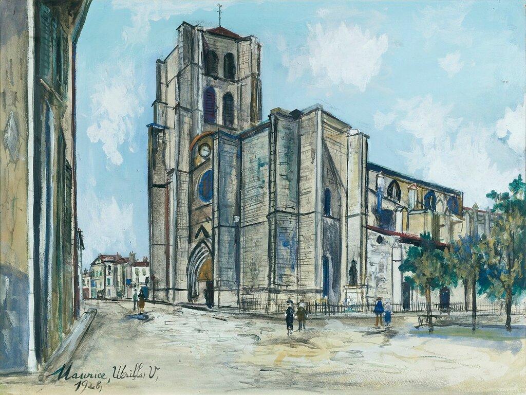 The Church Notre-Damm de Bonne-Esperance, (Montbrison, Loire), 1928.jpg