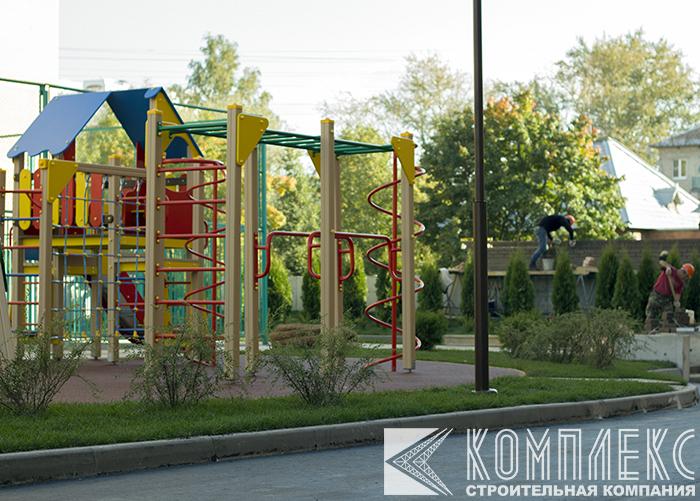 Комплексное благоустройство территорий в Московской области