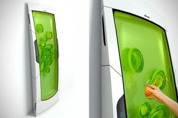 Российский дизайнер предложил концепцию холодильника, названного