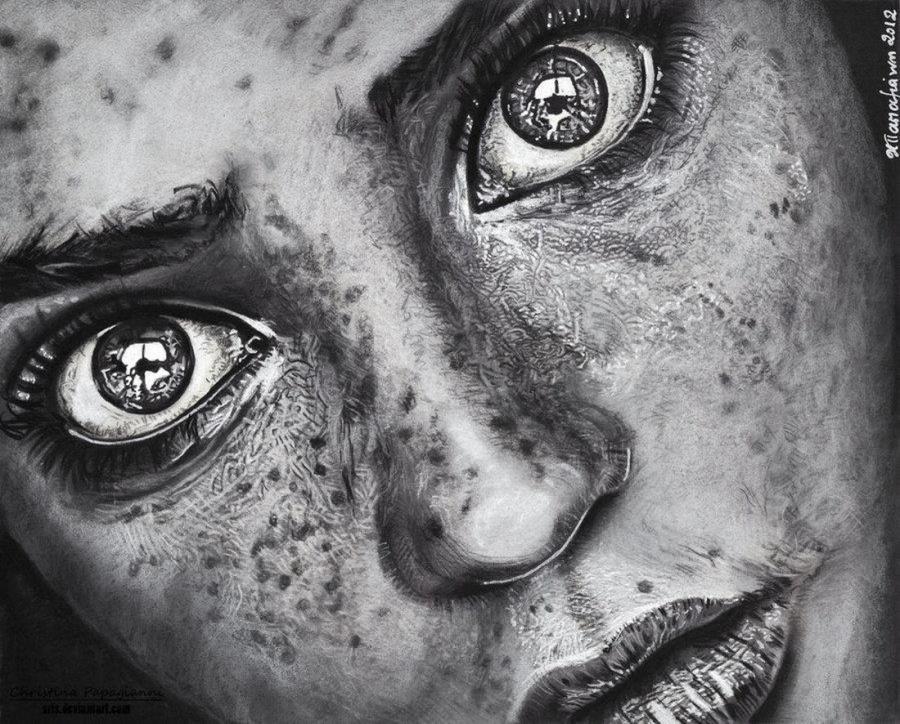 12. Невероятные портреты Кристины Пападжанни