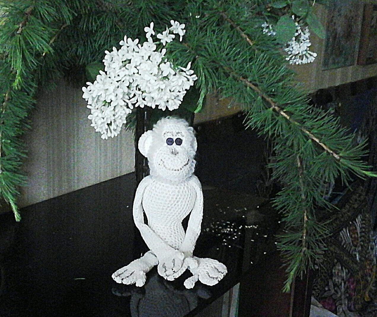 натюрморт с обезьяном