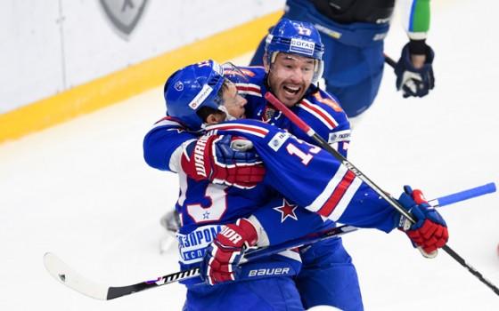 «ЦСКА» победил «Салават Юлаев» срезультатом 3:1 вматче КХЛ