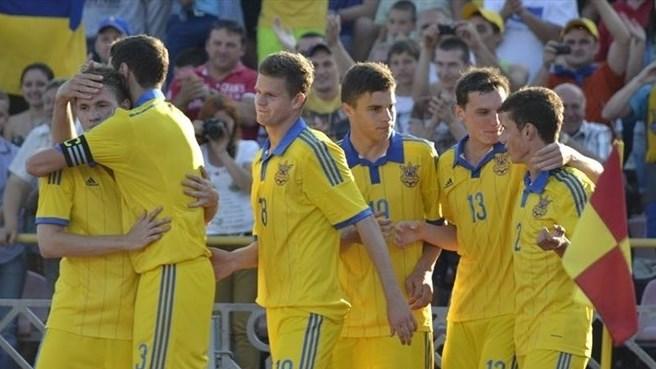 Молодежная сборная Украины обыграла Исландию в заключительном туре отбора Евро