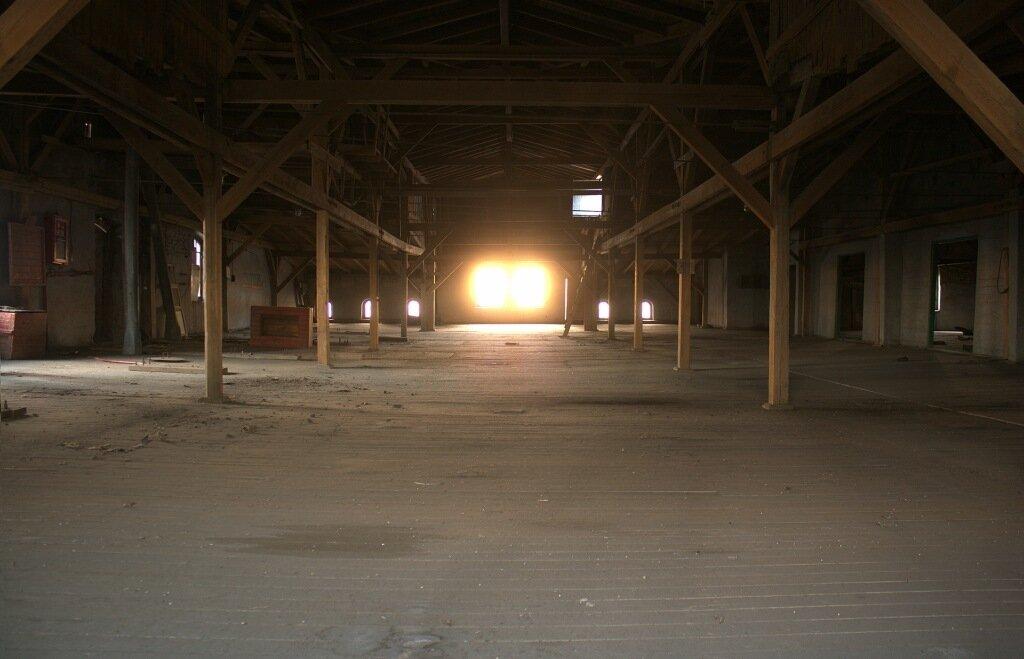Что внутри здания элеватора ремонт рольгангов