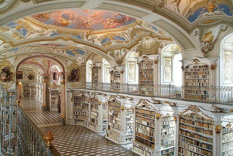 Монастырь Адмонт, Адмонт, Австрия.